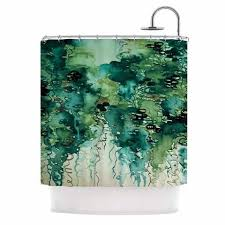 Kess Shower Curtains Best 25 Green Shower Curtains Ideas On Pinterest Tropical