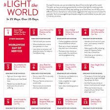 lds church to launch u0027 lighttheworld u0027 2016 christmas initiative