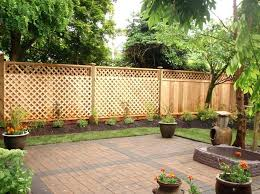 Backyard Fence Decorating Ideas by Fence Backyard Ideas U2013 Brandonemrich Com