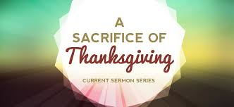 a sacrifice of thanksgiving leviticus 7 11 14 mount pleasant