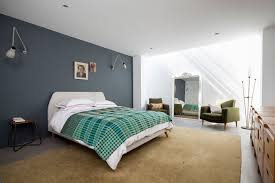 Grey Flooring Bedroom Grey Feature Wall Houzz