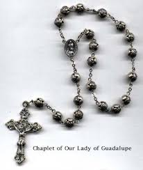 our of guadalupe rosary rosaryandchaplets our of guadalupe chaplet prayer