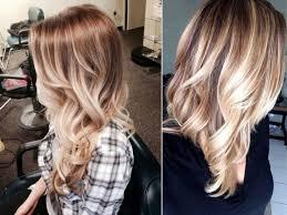 Frisuren Lange Haare F by Balayage Highlights Und Mitteldunkler Ansatz Schönheit