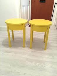 Yellow Side Table Uk Side Table Yellow Side Table Size Of Bedside Mustard 2 Wire