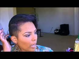 black natural hair with shafed sides hair talk upkeep on short hair shaved sides youtube