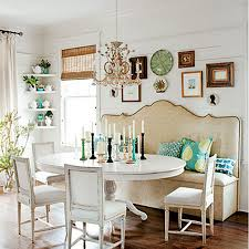 Dining Room Settee 19 Lovely Ways A Settee Can Squeeze More Guests Around The Dining