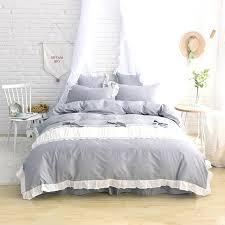 light grey bed skirt gray bedskirt dorm sized bed skirt panel with ties white light grey