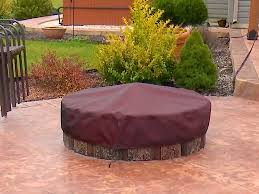 How To Make A Table Fire Pit - how to make a fire pit cover sailrite