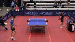 Us Table Tennis Team Men U0027s Singles Rd 16 Peter Li Vs Andrew Chen 2011 Us Table