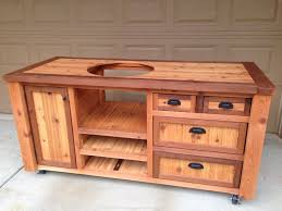 kamado joe grill table plans grill table or grill cabinet for big green egg kamado joe primo