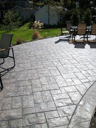 Patio Floor Designs Flooring Charming Sted Concrete Patio For Your Patio Floor
