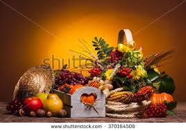 thanksgiving still berries nuts corn stock photo 315081674