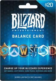 20 gift card blizzard balance 20 gift card blizzard balance 20 best buy