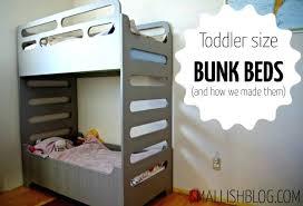 Diy Toddler Bunk Beds Loft Beds For Toddler Our Unique Toddler Sized Bunk Beds Diy