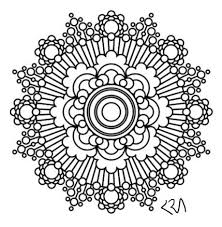 intricate mandala coloring pages flower henna coloring book