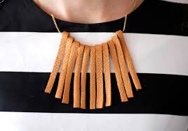 diy leather necklace images Diy leather fringe necklace leather couch chronicles 8 kristi jpg