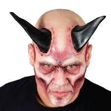 prosthetic halloween mask big horn prosthetics 252645 trendyhalloween com