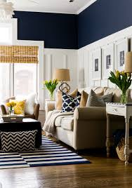 Painting Ideas For Living Room by Spring Decor Ideas In Navy And Yellow Navy Spring And Living Rooms