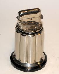 objet deco retro vintage 30s round lighter from luminouswhatnots etsy etsy love