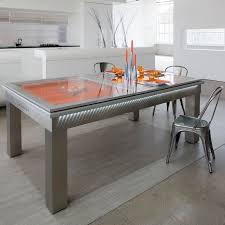 contemporary pool table convertible dining table lambert