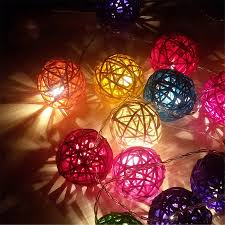 Fairy Light Tree by Aliexpress Com Buy Coversage 20leds Rattan Ball String Fairy