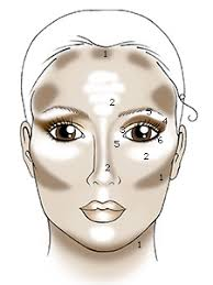 makeup you apply you need to make sure you blend when you highlight and contour so