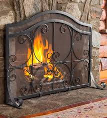 Cleaning Glass On Fireplace Doors by Best 20 Fireplace Screens Ideas On Pinterest Farmhouse