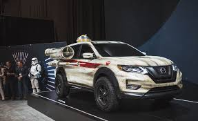 nissan rogue nissan dresses up the rogue as a star wars x wing fighter u2013 news