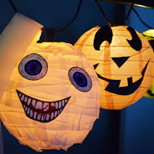 Homemade Halloween Decorations by Easy Diy Halloween Paper Lantern