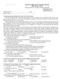 format lop word 2010 các đề thi tiếng anh lớp 11 hkii