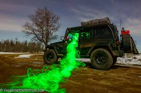 jeep wrangler overland more light painting with the overland jeep vagabond expedition