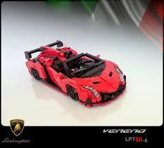 Lamborghini Veneno Black - lego ideas lamborghini veneno roadster