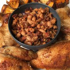 gordon ramsay thanksgiving recipes gordon ramsay roasted chicken stuffed with chorizo walnut kitchen