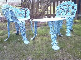 antique cast iron patio furniture 75 best cast iron outdoor furniture images on outdoor