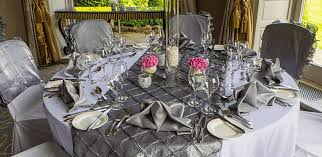 silver chair covers simply bows and chair covers the wedding affair the wedding affair