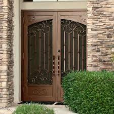 Custom Size Steel Exterior Doors Security Doors Doors Custom Iron Security Screen Doors