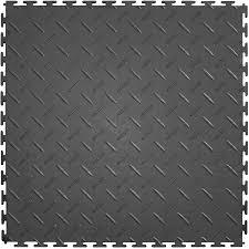 shop perfection floor tile 8 20 5 in x 20 5 in gray