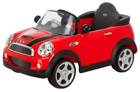 toddler motorized car kid car mini cooper red girls boys toddler riding car electric