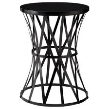 round metal side table round metal accent table mike ferner