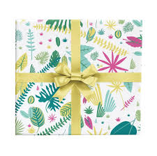 pineapple wrapping paper gift wrap revel co