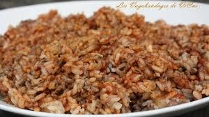 cuisiner le riz riz sauté à la viande hachée recette par les vagabondages de vi ne