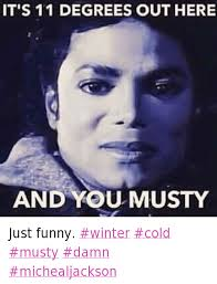 Funny Cold Memes - it s 11 degrees out here and you musty just funny winter cold musty