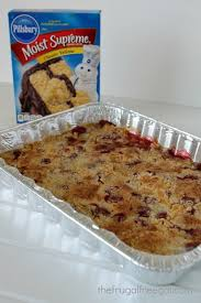 cherry pineapple dump cake recipe the frugal free gal