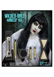 doll halloween costumes wicked doll makeup kit