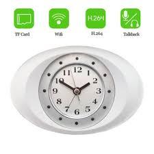 cachee bureau hd 720 p vidéo caché horloge éra ip wifi éra alarme horloge