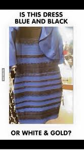 Dress Meme - is this dress blue and black or white gold black or white meme