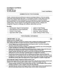 administrative professional resume 28 images professional