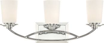Designers Fountain CH Palatial Contemporary Chrome Light - Bathroom lighting fixtures chrome