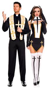 costumes for couples habit costume costume yandy men s priest