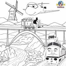 summer kids activities thomas train picture sheets magic railroad